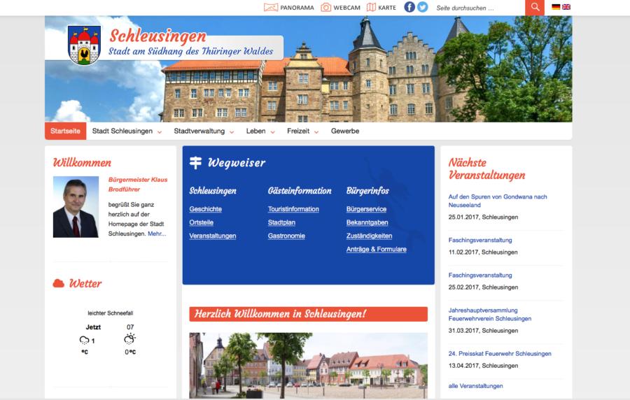 Stadt Schleusingen
