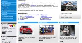 Internetauftritt – Autohaus Häfner