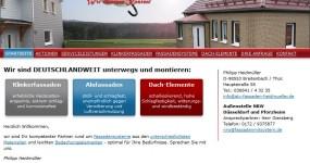 Website – Alu Fassaden Heidmüller